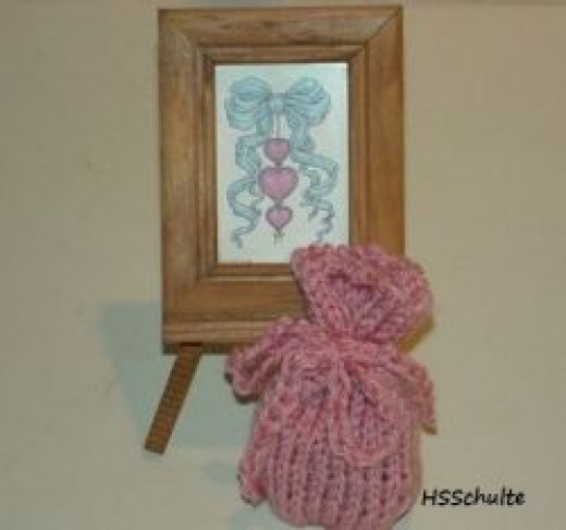 Knifty Knitter Sachet