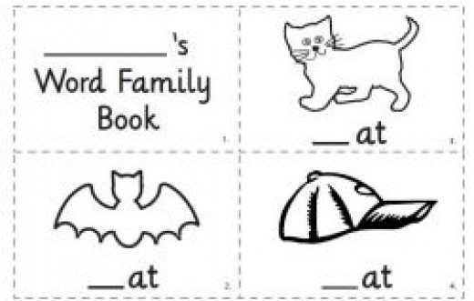 AT Word Family Book