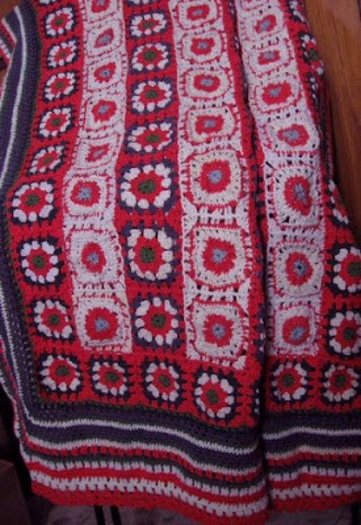 Knifty Knitter Blanket And Afghan Patterns Feltmagnet
