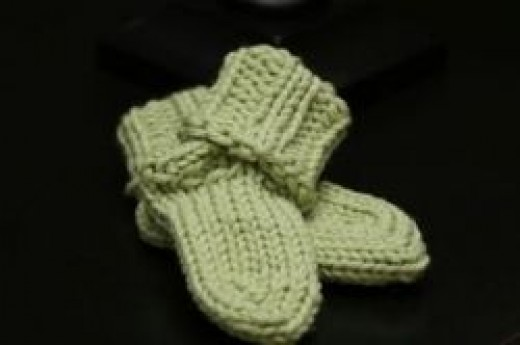 Knifty Knitter Free Baby Socks Pattern