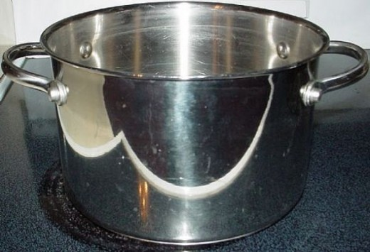 Stockpot for cooking relish.