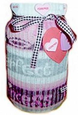 Sock Jar Cover