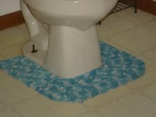 Custom Crochet Rug