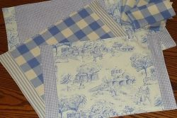 Reuse or Recycle Old Clothes to Make a Placemat