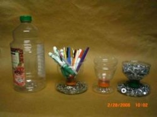 How To Reuse Your Plastic Bottles For Crafts Feltmagnet