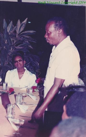Dad speaking at my 21st birthday surprise party at Tropicana Inn. My friend, Jennifer Leid, had her brother drive us there and she kept it a secret.