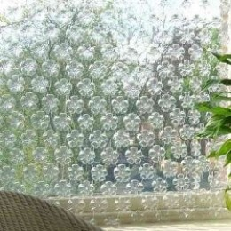 How to Reuse Plastic Bottles as a Privacy Screen