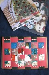 Make a Weaving from Old Cards