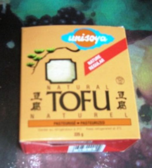 Packaged tofu, Bob Ewing photo