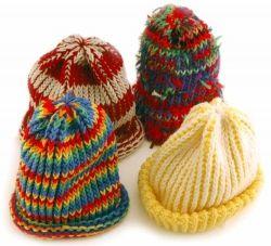Rib Stitched Hats