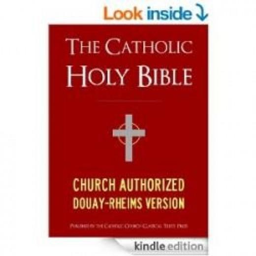 Catholic Bible - Kindle version - Holy Bible - Books in the Bible - Non Protestant Books in the Bible