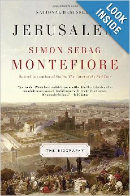 History of Jerusalem - National Bestseller - Simon Sebag books