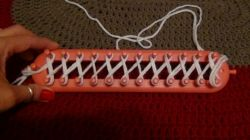 Wrapping the Loom - Cast On
