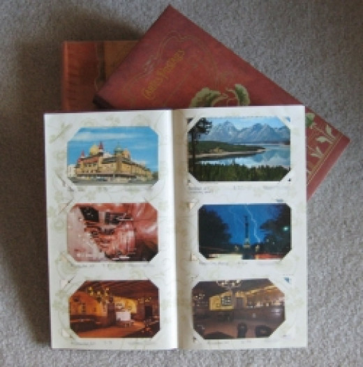 Collecting Postcards Album (photo by bossypants)