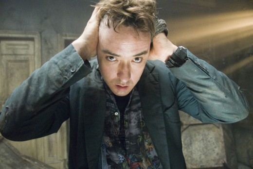 John Cusack having thrilling psychotic fibrillations.