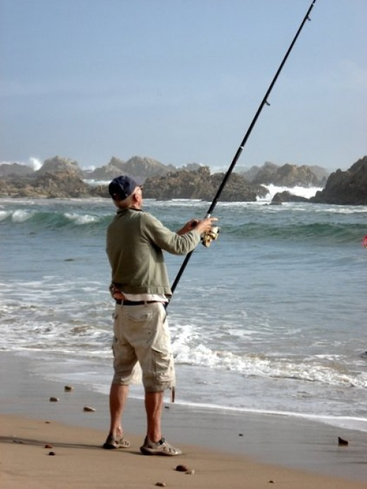 Who is the best fisherman? Hans Joachim Feldberg in Knysna