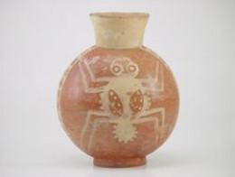 Moche Ceramic Depicting Spider. 300 A.D.