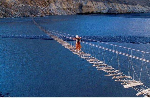 The Suspension Bridge Gilgit