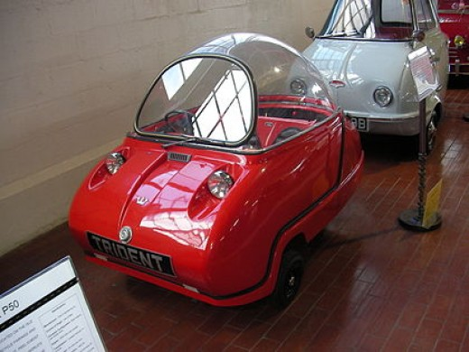 Peel Trident 3 wheeler car