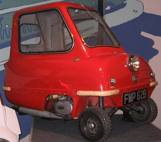 Peel P50 - 3 wheeler car