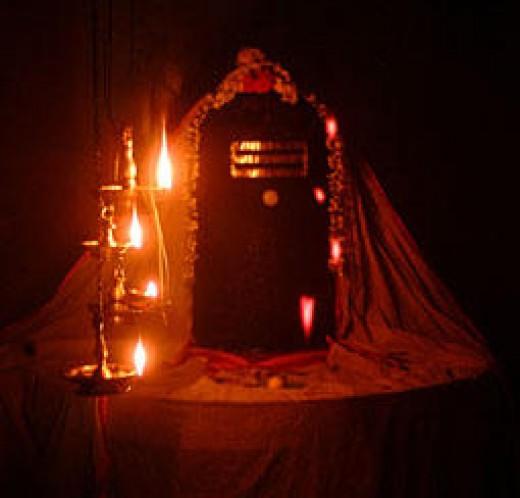 Shiva Lingam a Non-anthropomorphic representation of Shiva