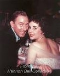 Michael Wilding and Elizabeth Taylor (Husband #2)