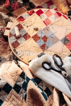 Memory Quilt - Quilted Material