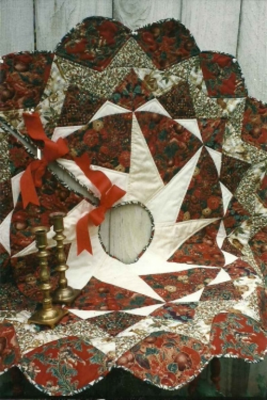 Memory Quilt - Christmas Tree Skirts