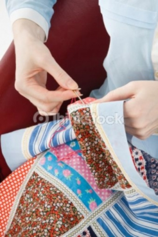Memory Quilt - Hand Quilting