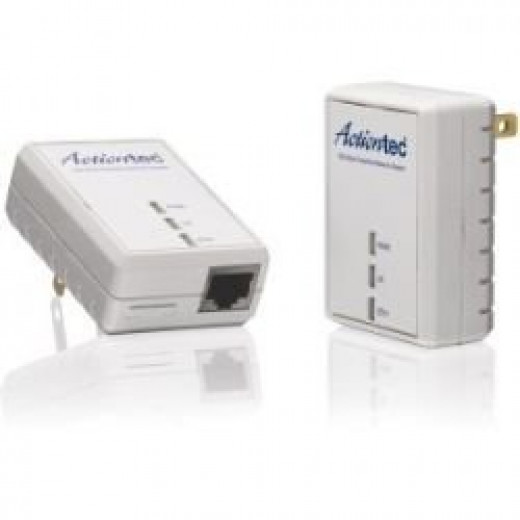 Actiontec PWR511K01 500 Mbps HomePlug HD