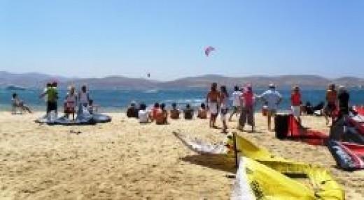Kite boarding festival