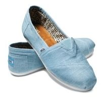 Blue Shoes from TOMS