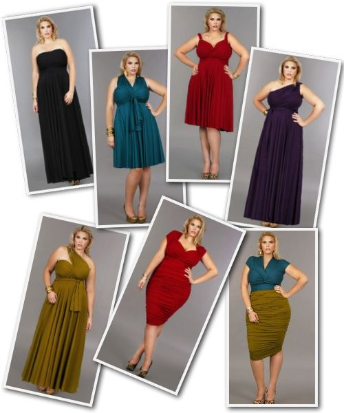 Plus Size Convertible Dress