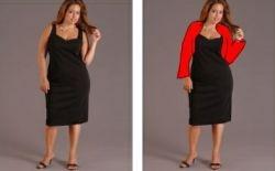 little black dress plus size