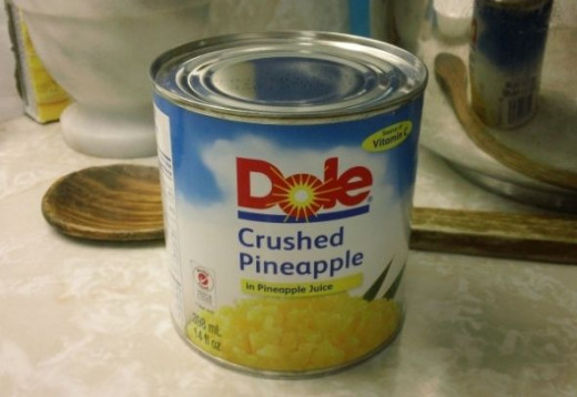 When it comes to canned pineapple I am partial to Dole.