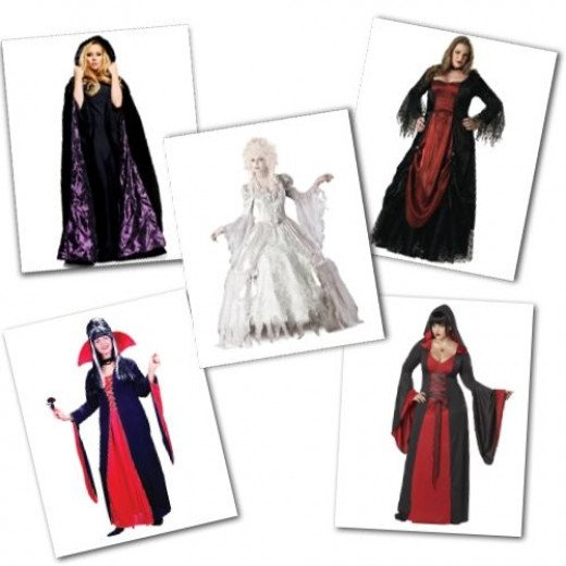 Plus Size Vampire Costumes from Costume Super Center