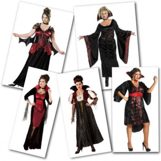 Plus Size Vampire Costumes from Costume Craze