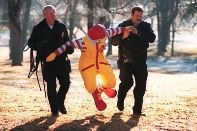 (2)  Ronald McDonald