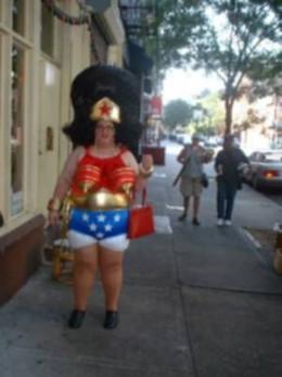 (10) Wonder Woman 2008