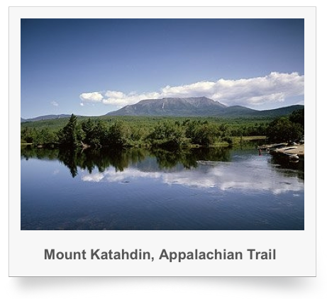 Mount Katahdin, Appalachian Trail Print on Sale at Amazon