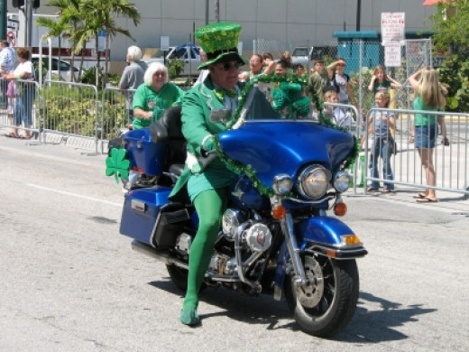 Scary Saint Patrick's Day Characters