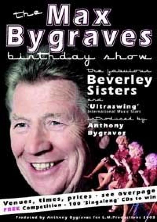 Max Bygraves (from MaxBygraves.com)