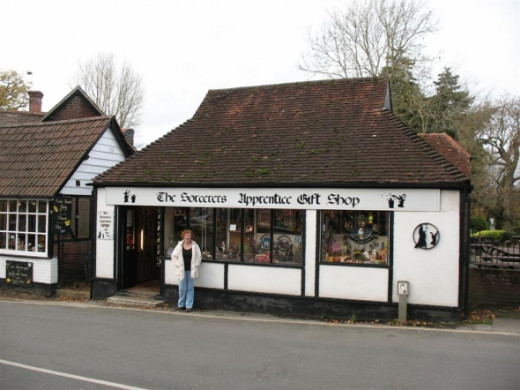 Witchcraft themed gift shop in Burley.