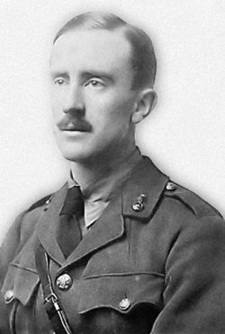 J.R.R. Tolkien author of The Hobbit and Lord Of The Rings