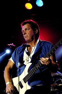 John Wetton, singer songwriter with Asia, Roxy Music, King Crimson, Uriah Heep, Wishbone Ash