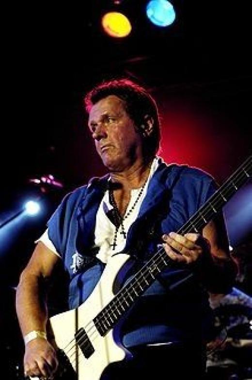 John Wetton, singer songwriter with Asia, Roxy Music, King Crimson, Uriah Heep, Wishbone Ash