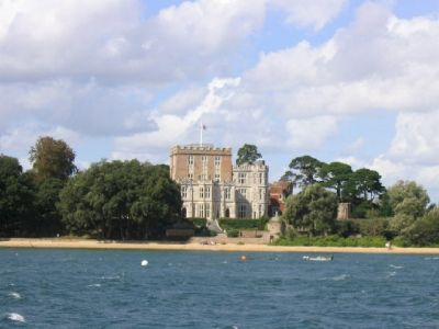 Brownsea Island At The Entrance To Poole Harbour