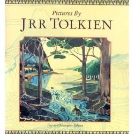 Pictures by J.R.R. Tolkien. Cover art: Bilbo on the barrels leaving Mirkwood.