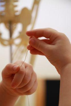 spool knitting for kids