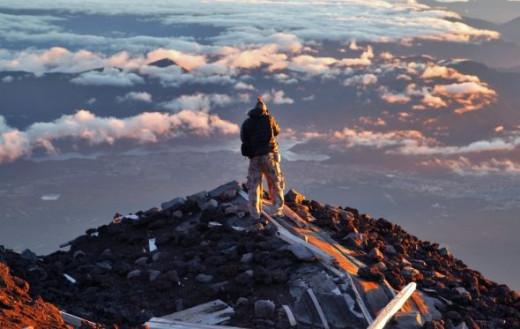 Hiking Mount Fuji